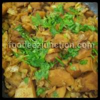 How to Make Aloo aur Band Gobi ki Sabzi