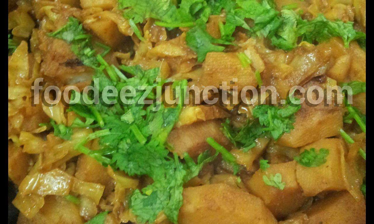 Aloo Band Gobhi Sabji Recipe