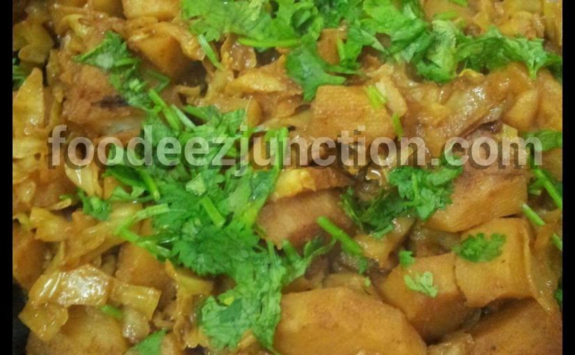 Aloo Band Gobhi Sabji Recipe