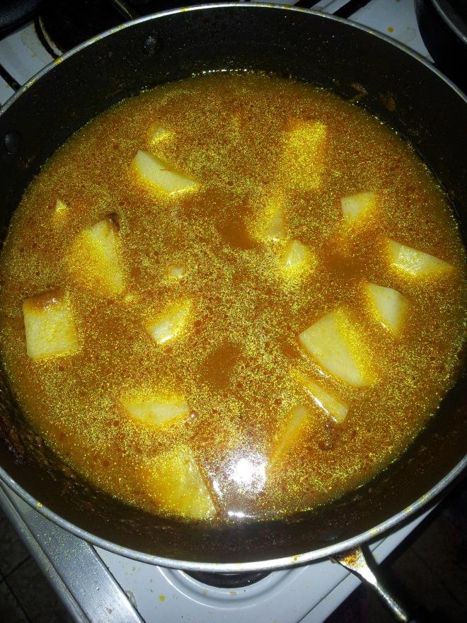 Ande Ka Salan Curry