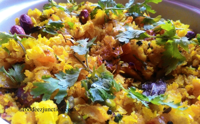 Hara Matar Poha – A Healthy Breakfast