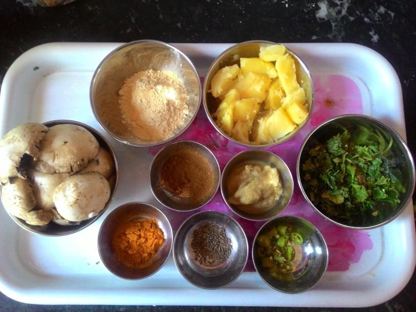 Mushroom Kabab Recipe