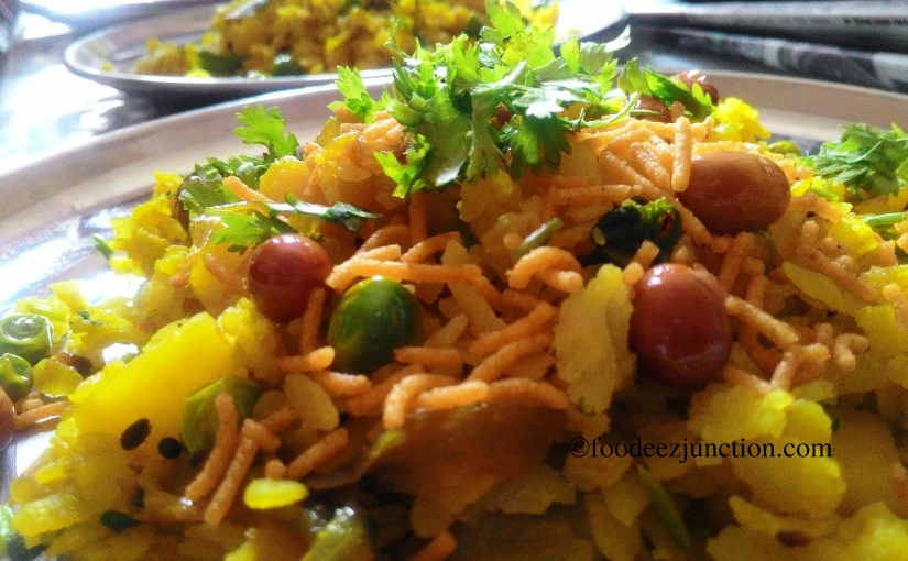 Fried Aloo Poha Recipe