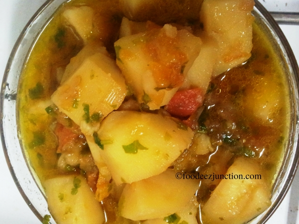Aloo Tamatar ki Sabzi Recipe