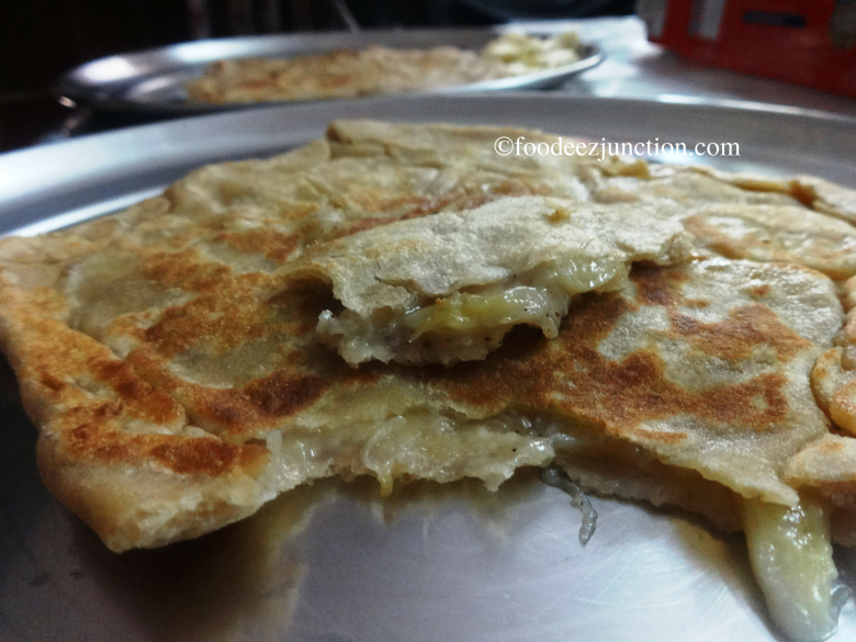 Banana Stuffed Paratha Recipe