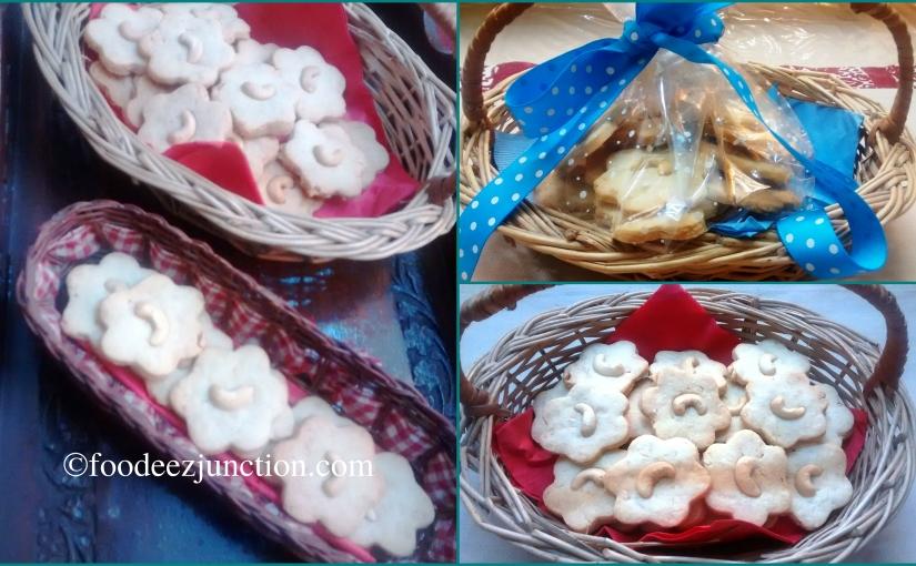 Recipe of Homemade Cashew ButterCookies