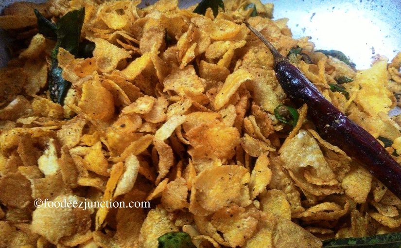 How to Make Cornflakes Namkeen