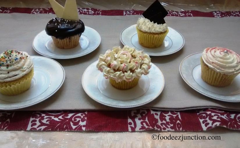 Recipe: How to Make Eggless VanillaCupcakes