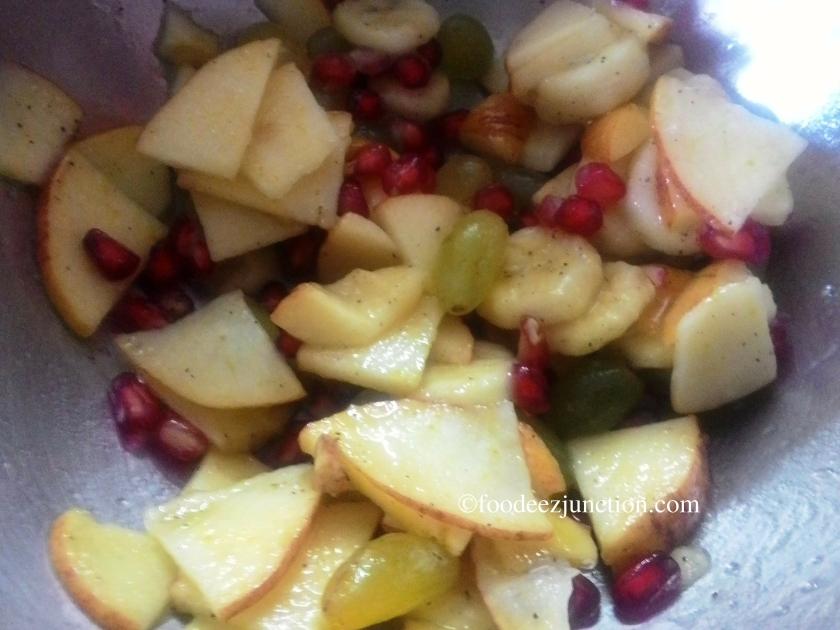 Fruit chat recipe