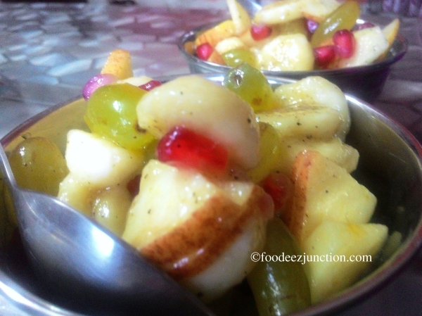fruit chat recipe