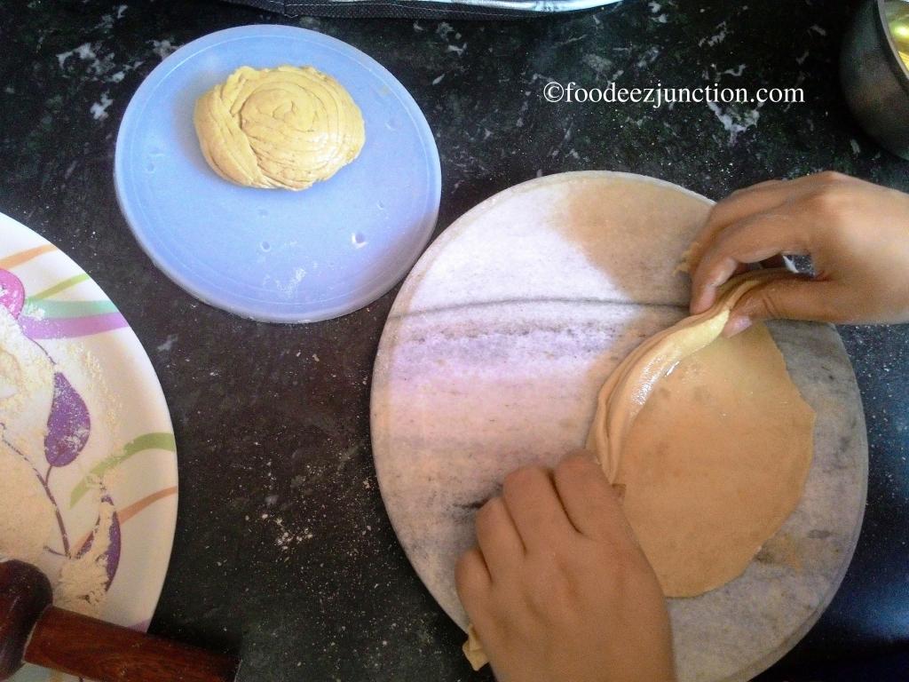 Lachha Paratha Recipe