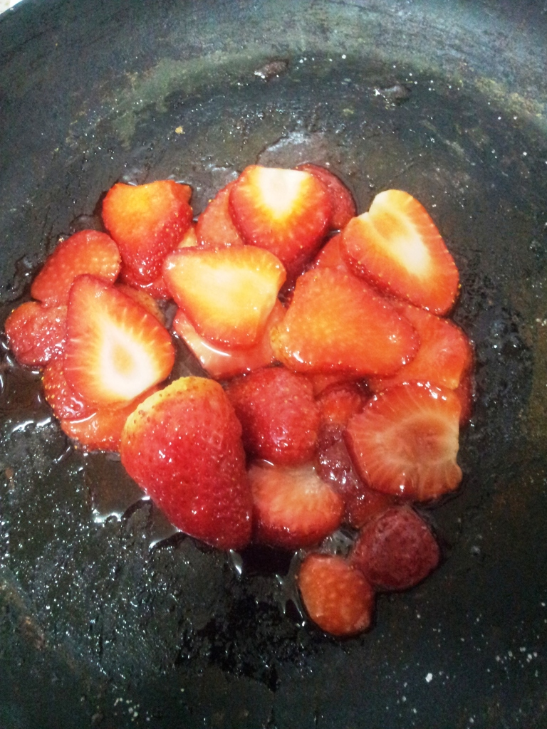 Caramalized Strawberries