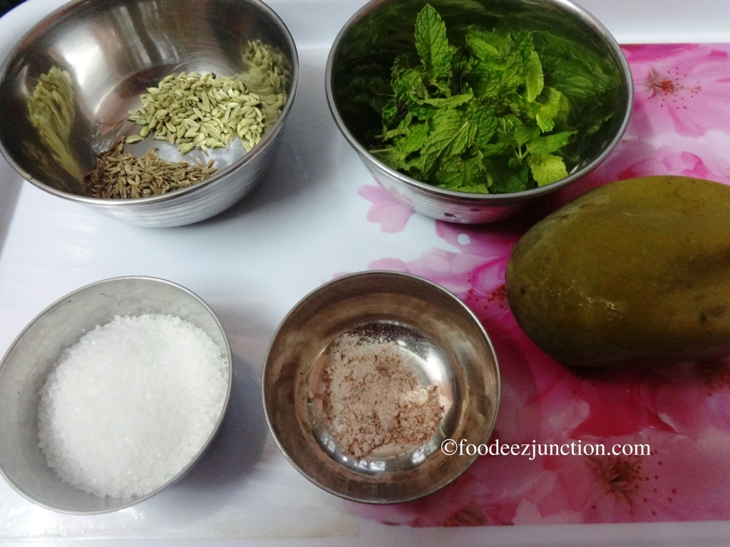 Aam Panna Ingredients