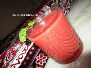 Watermelon Mint Cooler