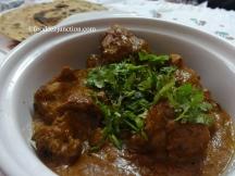Chicken Korma with Lachha Paratha