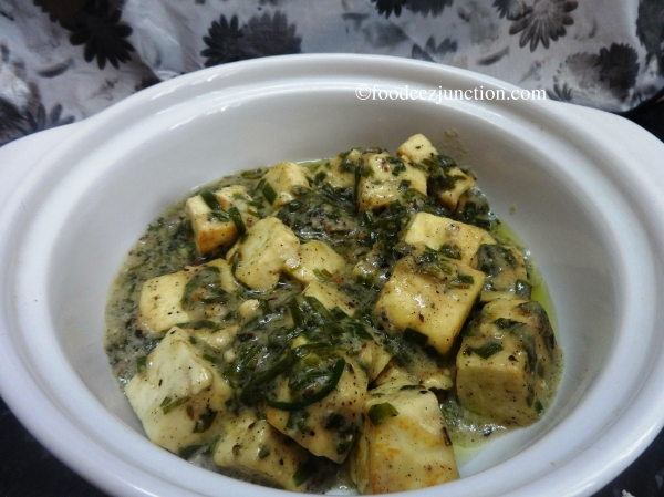 Paneer with Coconut Milk Recipe