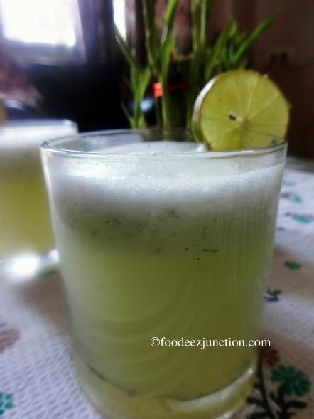 Cucumber Coconut Water Drink