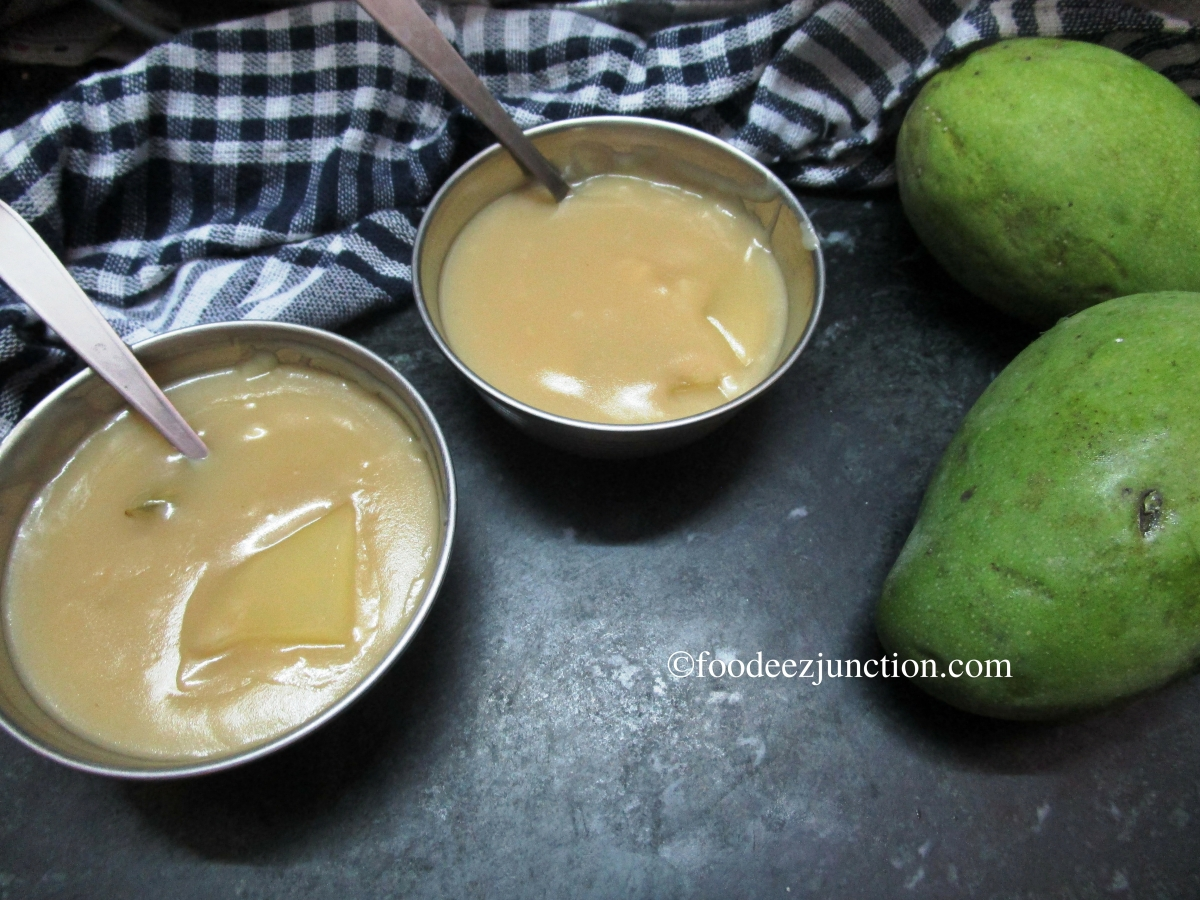 Raw Mango Gudamba Recipe, Mom-style