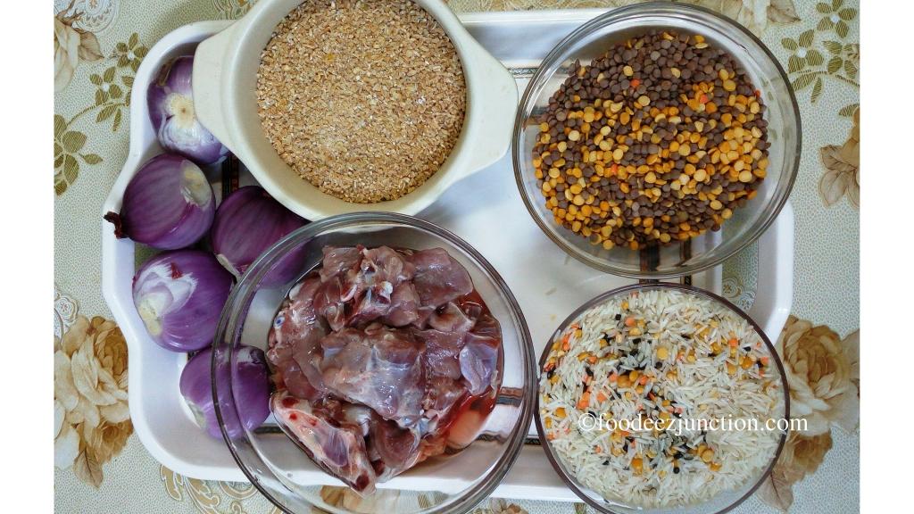 Khichda Ingredients