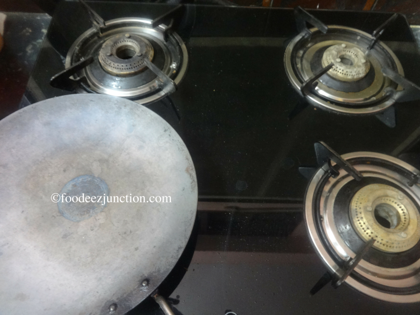 Iron Griddle on Gas stove