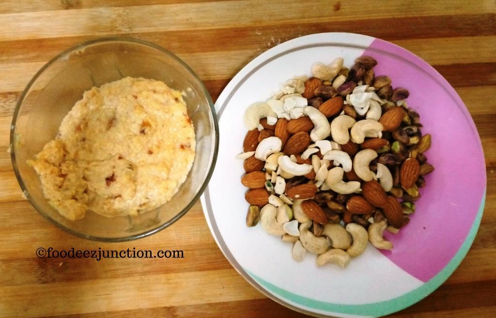 Khajur Laddu Ingredients