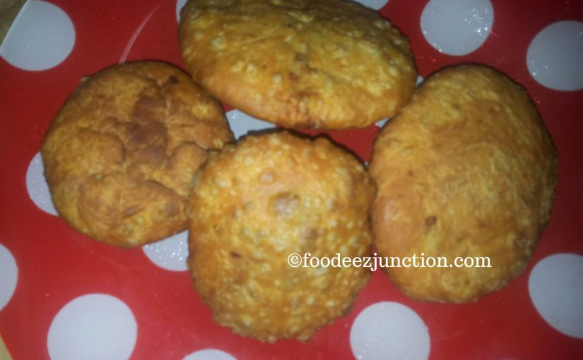 Aloo ki Kachori – a Special Holiday Snack