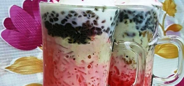 Falooda with Ice Cream and Rabri