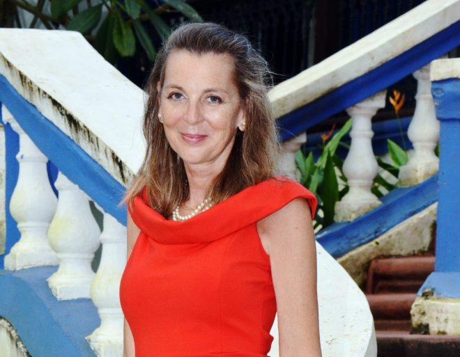 Kornelia Santoro, author of Cooking for Happiness
