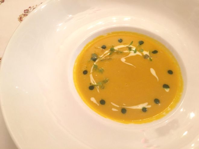Carrot and Orange Soup by Chef Ashay Dhopatkar