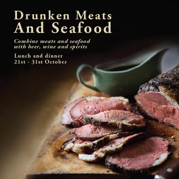 Drunken Meats and Seafood fest at Le Dupleix Pondicherry