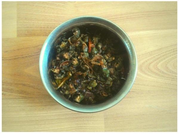 Simple Bhindi Recipe