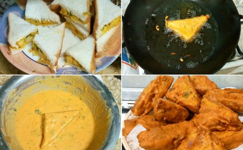 Bread Pakora with Potato Stuffing Recipe | How to Make Aloo BreadPakora