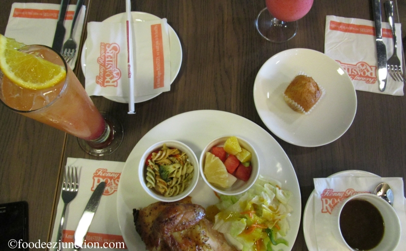 How About an Oil-Free Chicken this Weekend? | Kenny Rogers Roasters Review