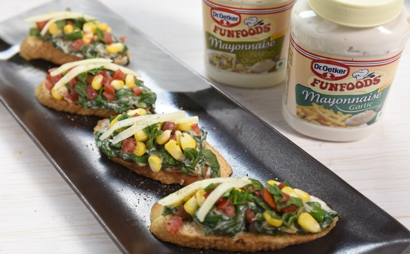 Veg Bruschetta Recipe | Guest Post