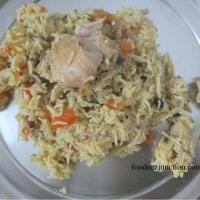 Tamatar Biryani Recipe   How to Make Chicken Tomato Biryani in Cooker