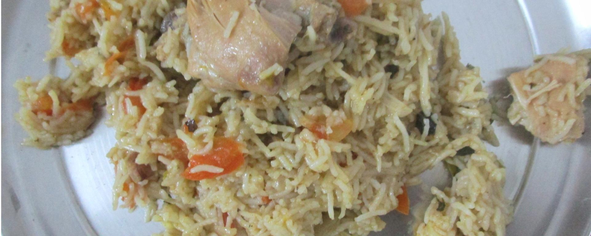 Tamatar Chicken Biryani foodeezjunction.com