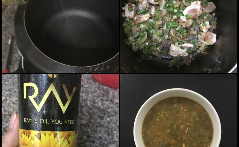 Chicken Bean Soup Recipe Made with Ray Cooking Spray | Product Review