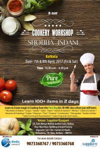 2-Day Cookery Workshop by MRS. SHOBHA INDANI (renowned Chef from Pune) foodeezjunction.com