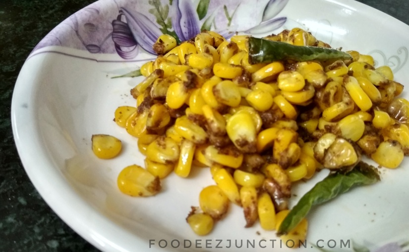 Snacks Time! A Quick Recipe for Sweet Corn Chat