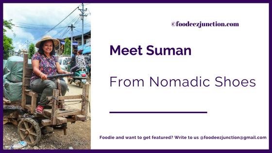 Interview-foodeezjunction-suman-nomadic-shoes-blogger-sara-khan