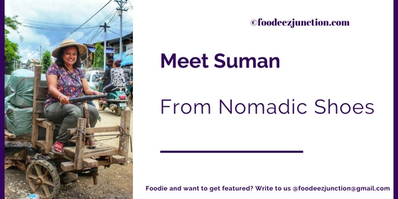 Interview-foodeezjunction-suman-nomadic-shoes-blogger-sara-khan